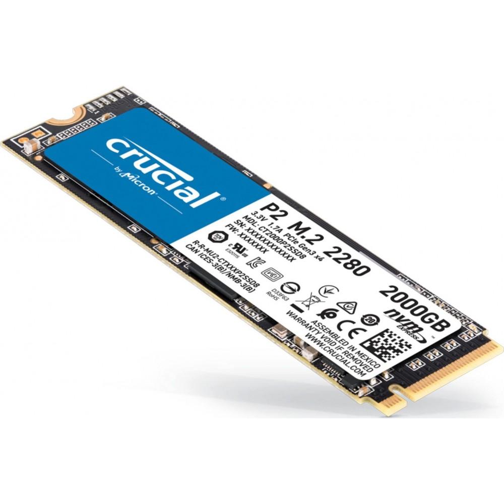 CRUCIAL SSD 500GB 940G/2.3G P2 PCIE M.2 NVME