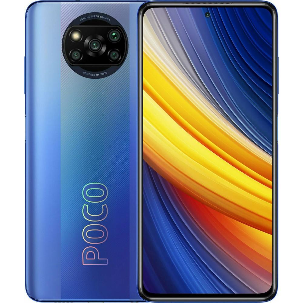 Xiaomi Poco X3 Pro 8GB/256GB Dual Sim Frost Blue (Έως 36 Δόσεις)