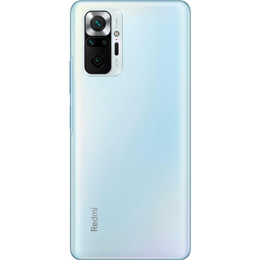 Xiaomi Redmi Note 10 Pro 6GB/128GB Dual Sim Glacier Blue (Έως 36 Δόσεις)