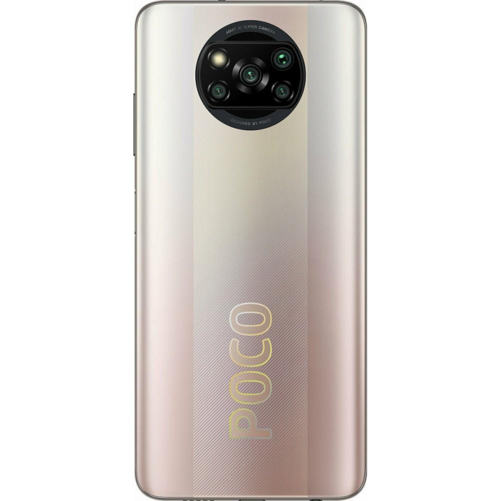 Xiaomi Poco X3 Pro 8GB/256GB Dual Sim Metal Bronze (Έως 36 Δόσεις)