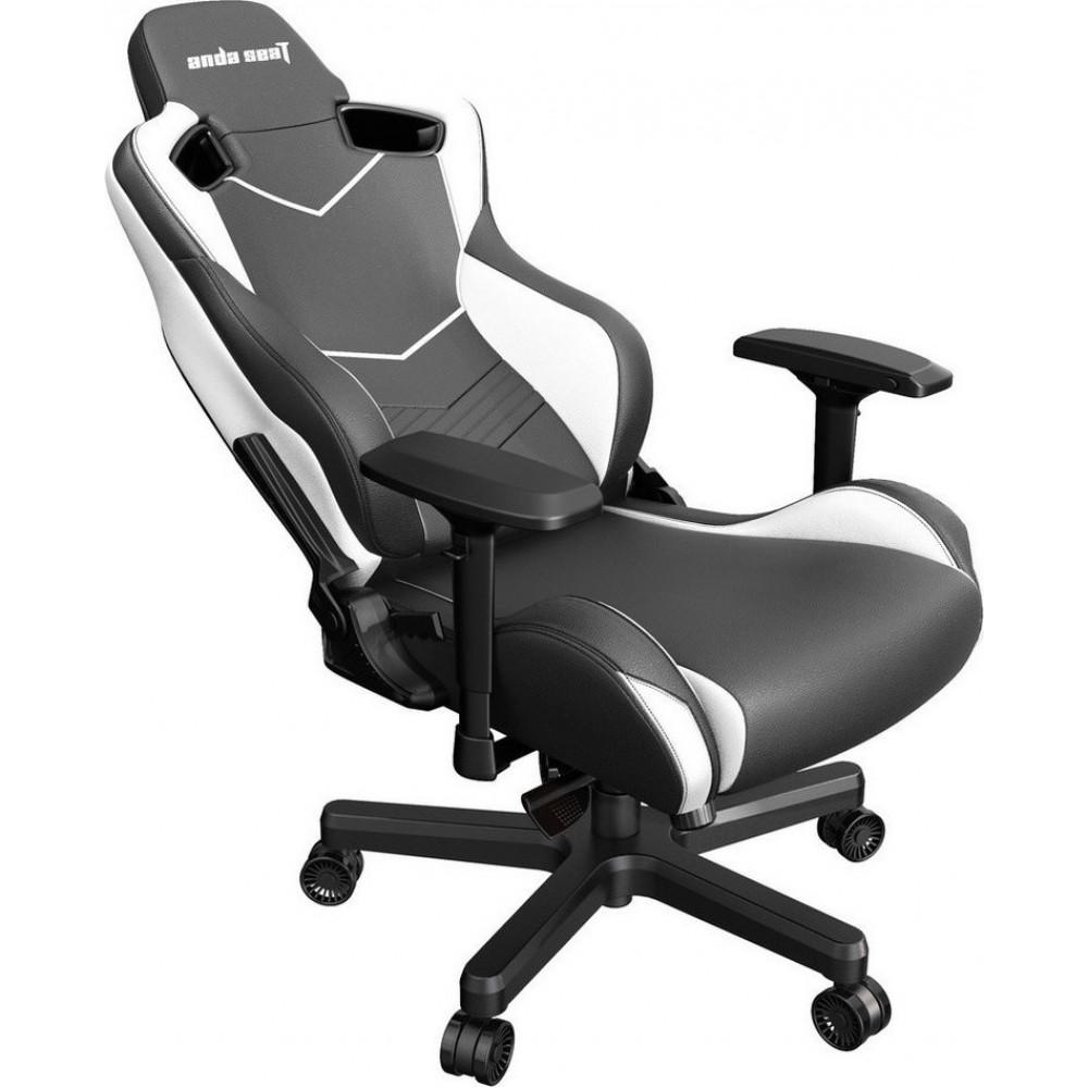 Anda Seat AD12XL Kaiser II Black-White Gaming Chair (3 ΈΩΣ 36 ΔΌΣΕΙΣ)