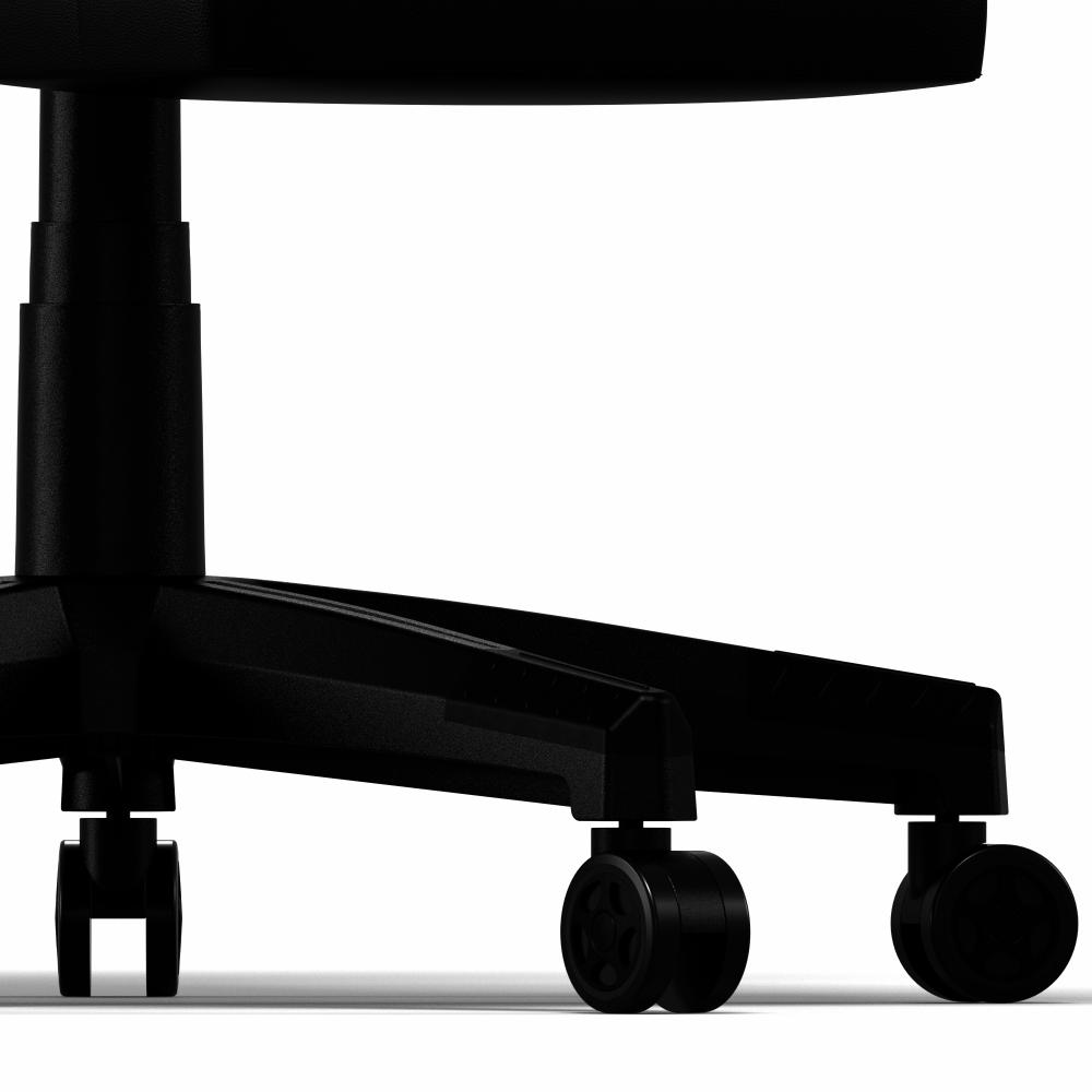 Oneray Black Chair Gaming με υποπόδιο (D0921-F)