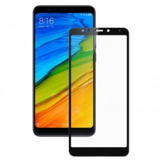 Oem Tempered Glass Xiaomi Redmi 5 Full Cover Mαύρο