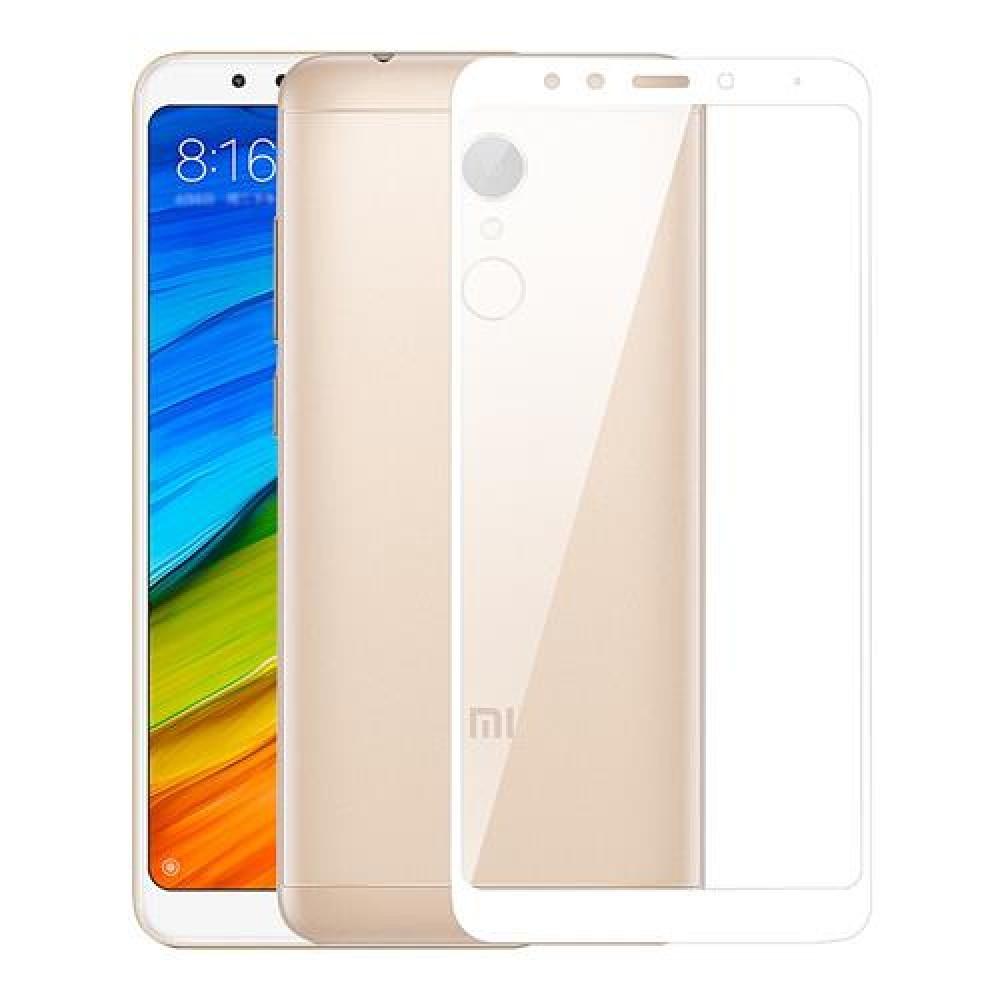 Oem Tempered Glass Xiaomi Redmi 5 Full Cover Λευκό