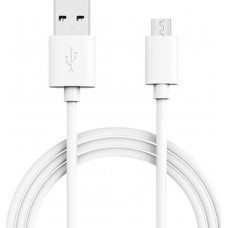 Samsung Regular USB 2.0 to micro USB Cable Λευκό 1.2m (EP-DG925UWE)
