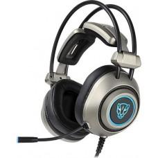 Motospeed H19 Gaming Headset Γκρι
